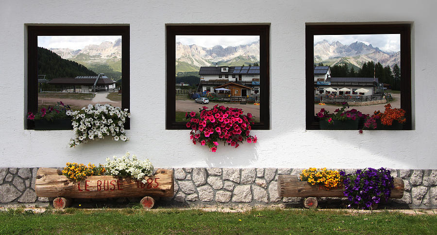 Dolomiti On Spring Photograph