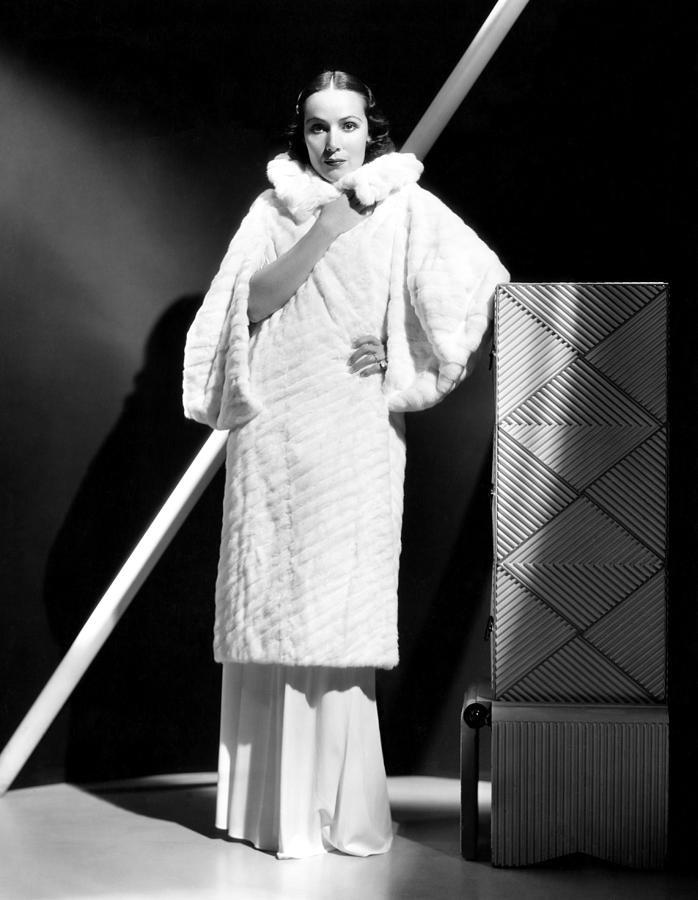 1930s Fashion Photograph - Dolores Del Rio, 1934 by Everett