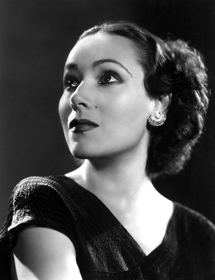 Dolores Del Rio, Ca. 1935 Photograph