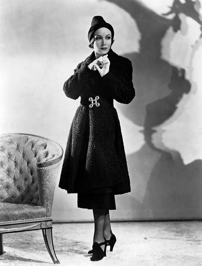 1930s Fashion Photograph - Dolores Del Rio, Ca. 1937 by Everett