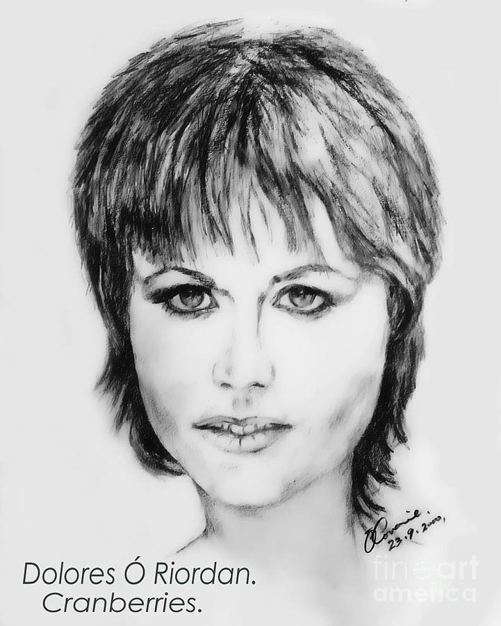 Dolores O Riordan   Cranberries Painting  - Dolores O Riordan   Cranberries Fine Art Print