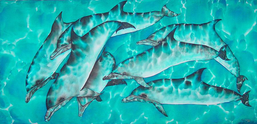 Dolphin Pod Painting