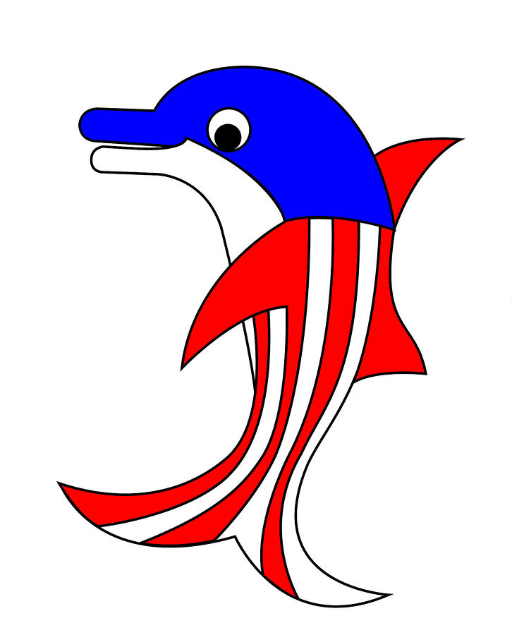 Dolphy The American Dolphin Digital Art