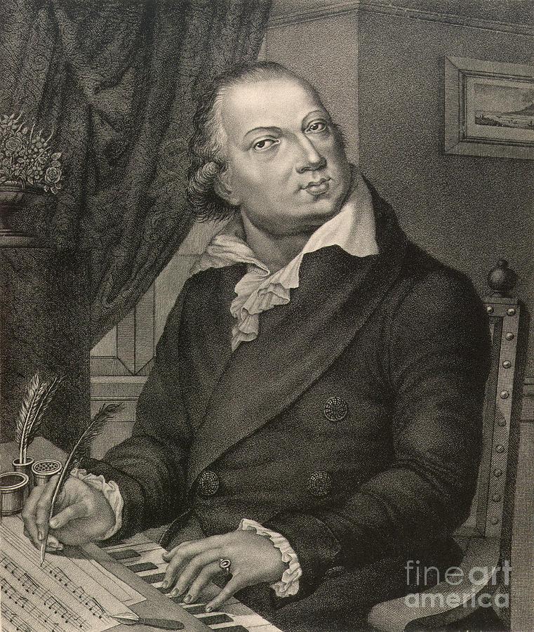 Domenico Cimarosa Photograph by Granger