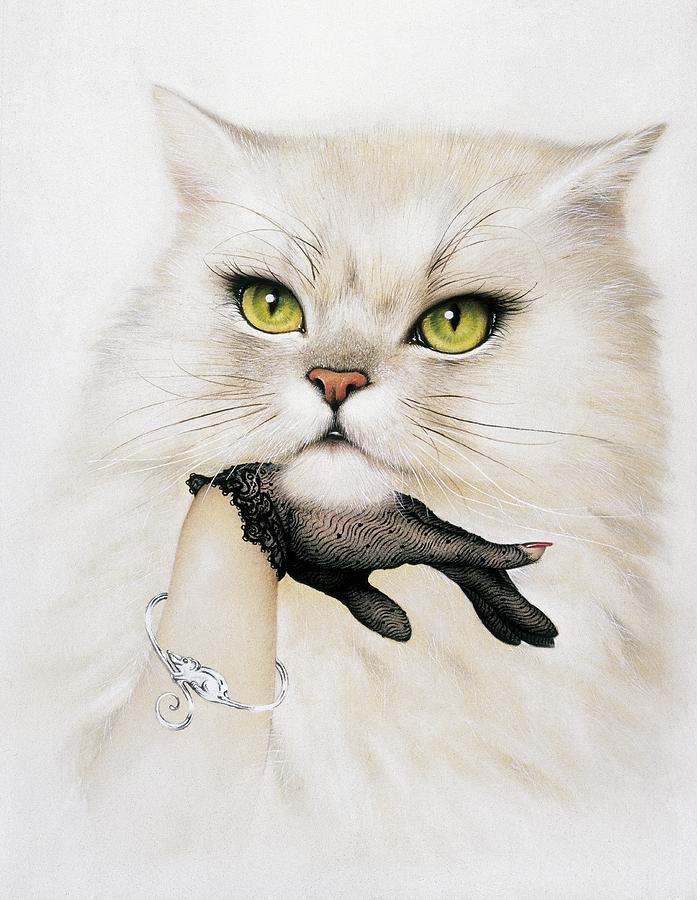 Felis Catus Photograph - Domestic Cat, Conceptual Image by Smetek