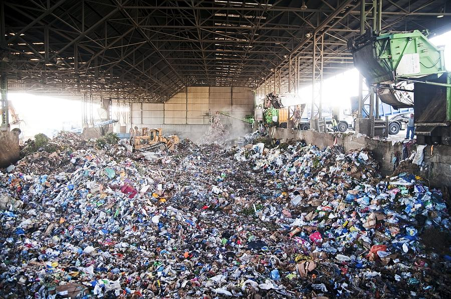 Domestic Waste Treatment Centre Photograph