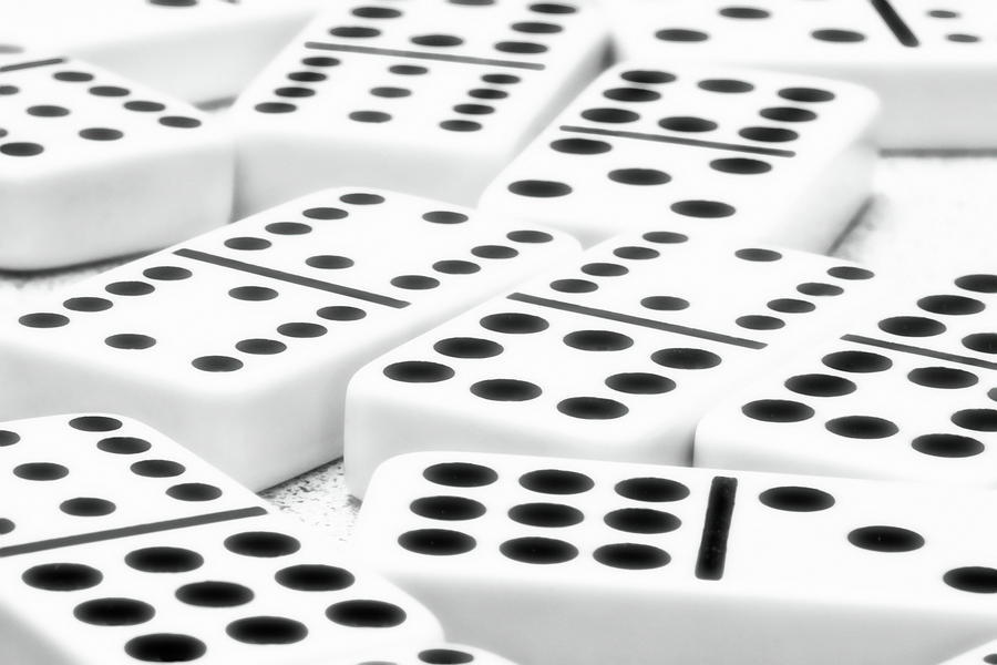 Dominoes I Photograph  - Dominoes I Fine Art Print