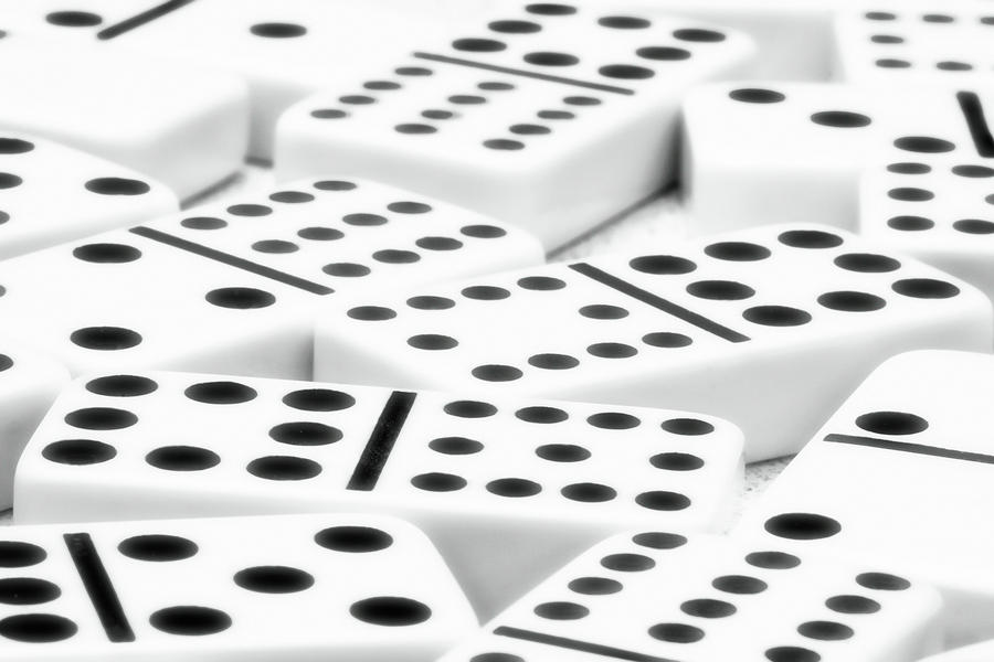 Dominoes II Photograph  - Dominoes II Fine Art Print