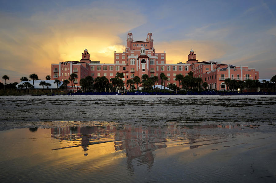 Don Cesar Reflection Photograph  - Don Cesar Reflection Fine Art Print