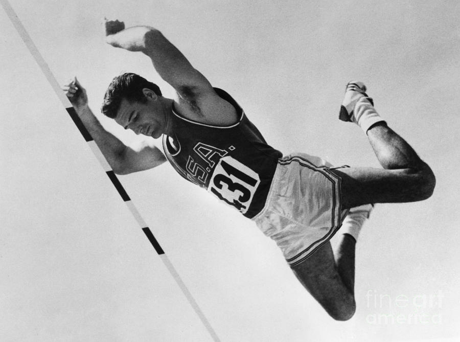 1960 Photograph - Donald Bragg (1935- ) by Granger