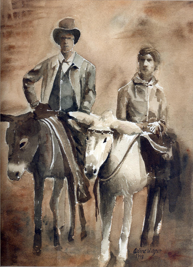 Donkey Ride Painting