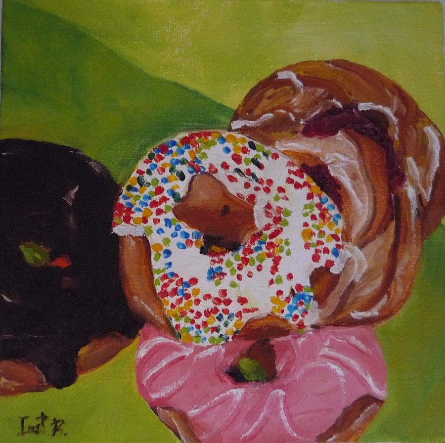 Donuts And Danish Painting