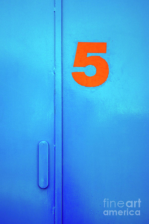 Door Five Photograph