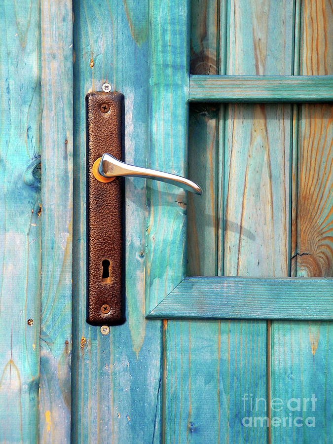 Door Handle Photograph  - Door Handle Fine Art Print