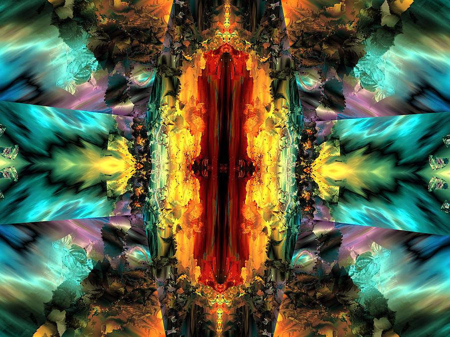 Door of destiny digital art by claude mccoy for Door of destinies