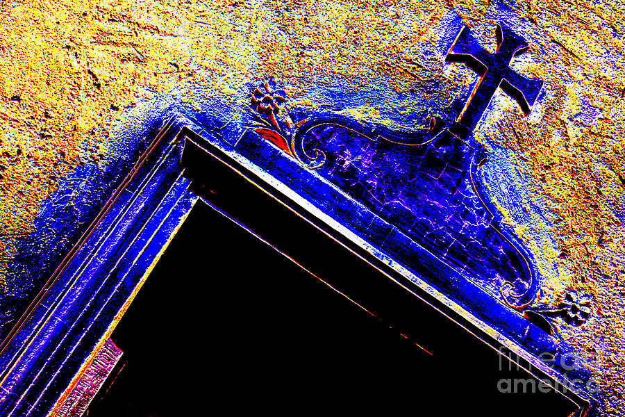 Door With A Cross Photograph