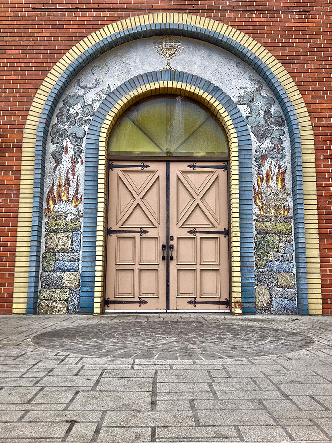 Doors Of Faith  Photograph  - Doors Of Faith  Fine Art Print