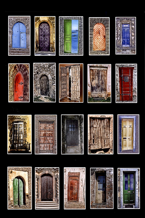 Doors Of The World Photograph  - Doors Of The World Fine Art Print