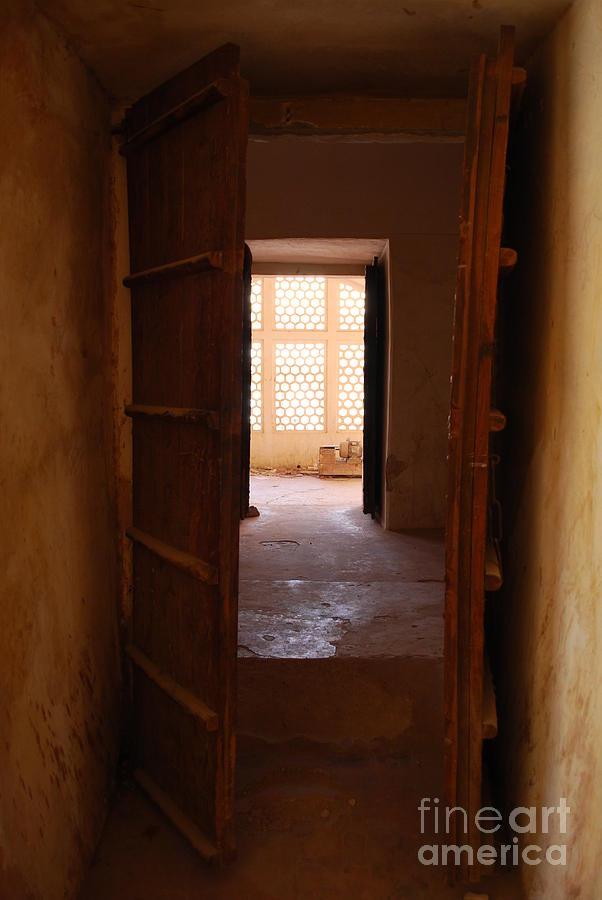India Photograph - Doorway by Jen Bodendorfer