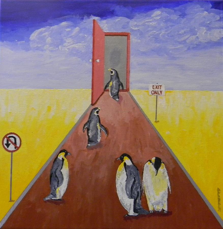 Doorway To Extinction Painting