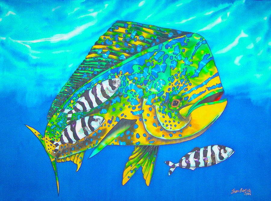 Dorado And Pilot Fish Painting