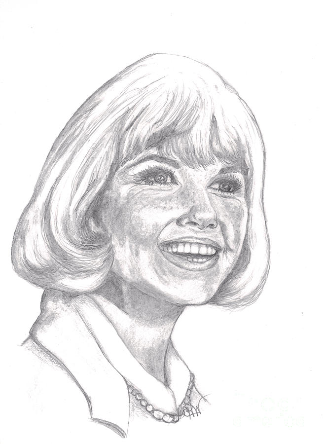 Doris Day  Drawing