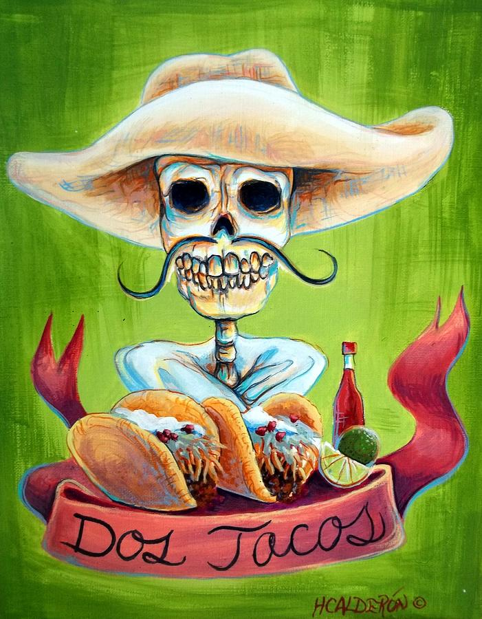 Dos Tacos Painting