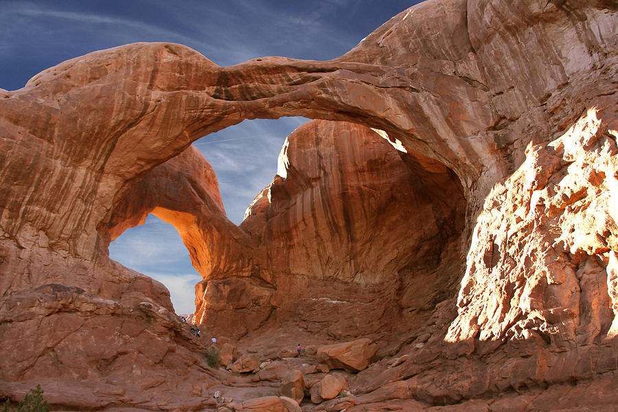 Double Arch In Late Afternoon Photograph