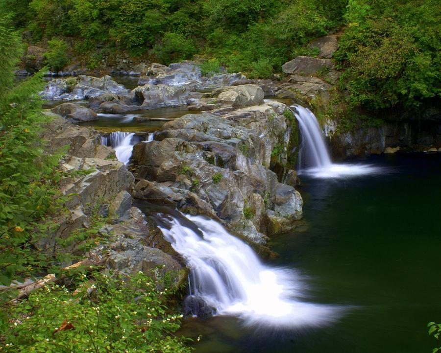 Double Falls Photograph