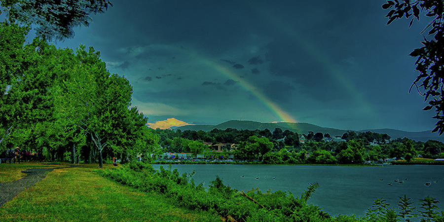 Double Rainbow Photograph  - Double Rainbow Fine Art Print