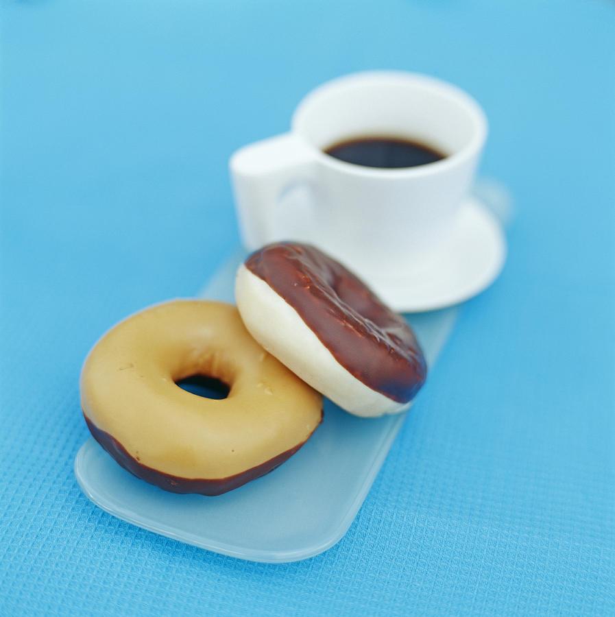 Doughnut Photograph - Doughnuts by David Munns