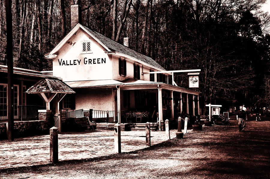 Down At Valley Green Photograph  - Down At Valley Green Fine Art Print