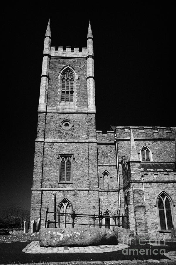 Downpatrick Down Church Of Ireland Cathedral St Patricks Grave Photograph