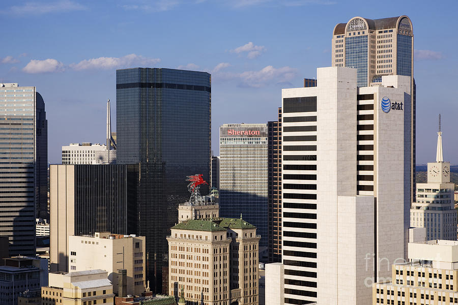 Downtown Dallas Photograph By Jeremy Woodhouse