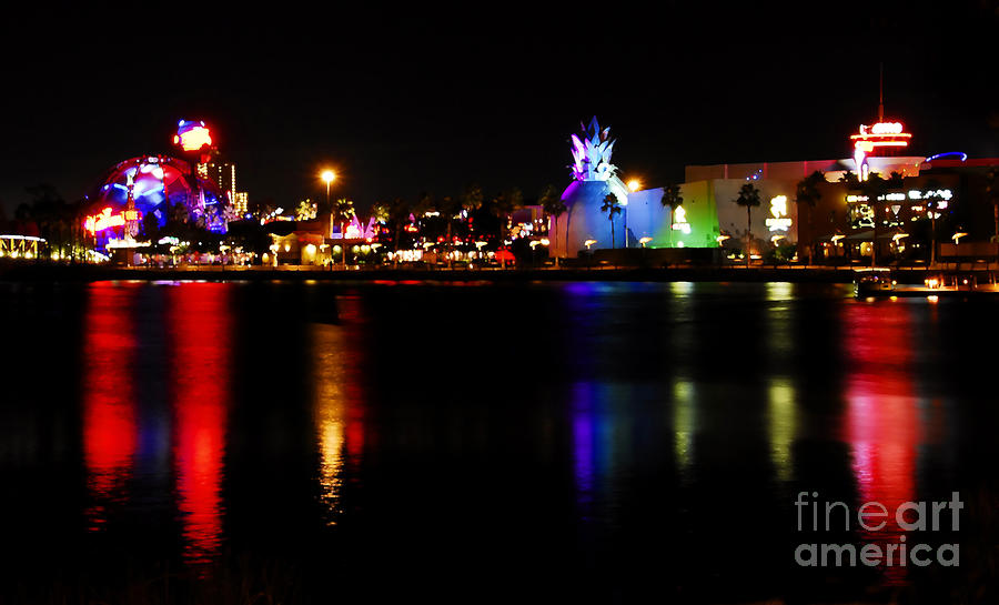 Downtown Disney  Photograph