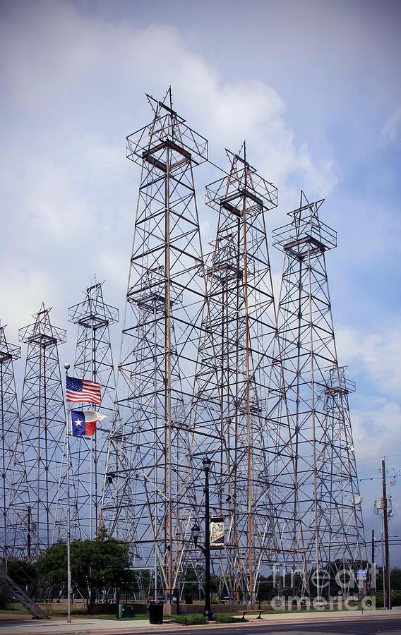 Downtown Kilgore Texas Photograph