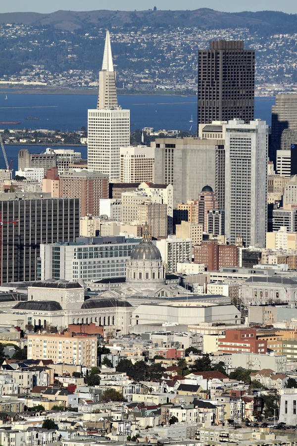 Downtown San Francisco Photograph