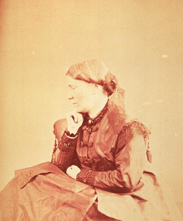 Dr. Elizabeth Blackwell 1821-1910 Photograph