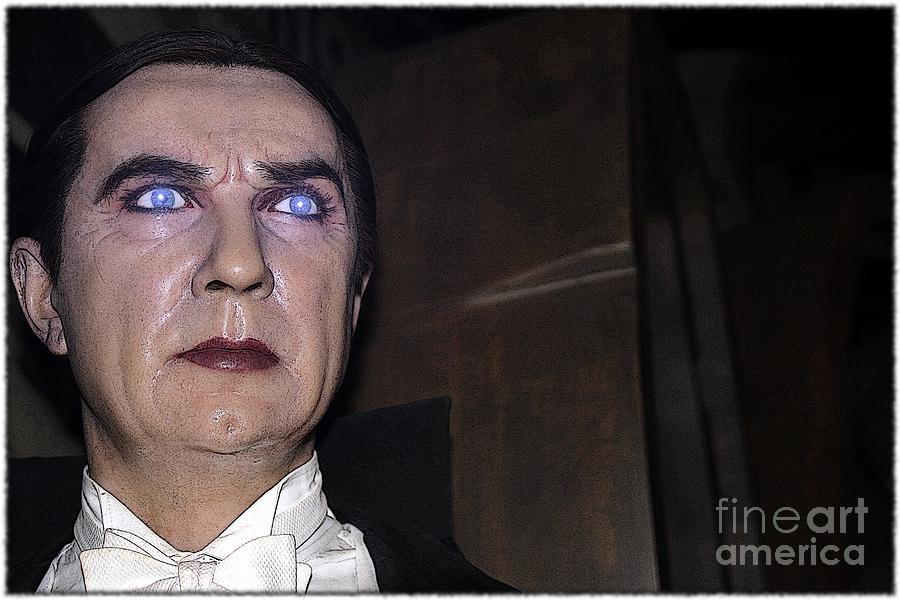 Dracula Photograph - Dracula Cartoon by Sophie Vigneault