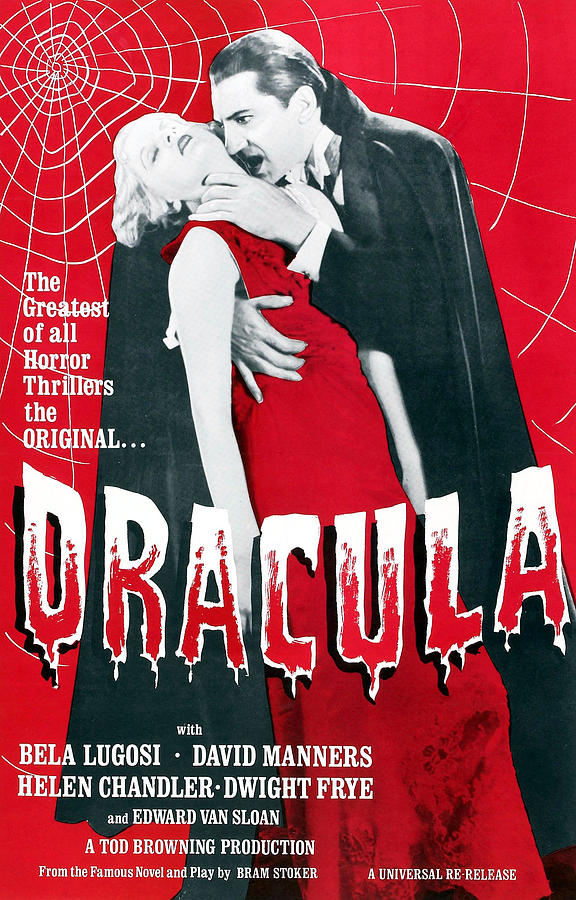 Dracula, From Left Frances Dade, Bela Photograph