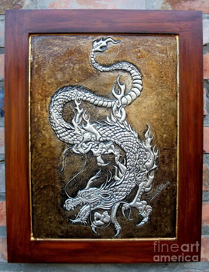 Dragon Relief  - Dragon Fine Art Print