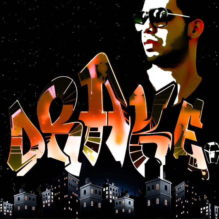 Drake watch Over The City By Gbs Digital Art  - Drake watch Over The City By Gbs Fine Art Print