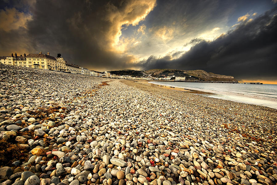 Drama Over Llandudno Photograph
