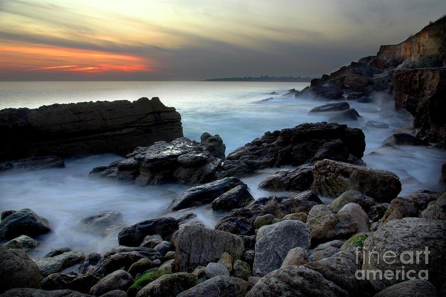 Dramatic Coastline Photograph