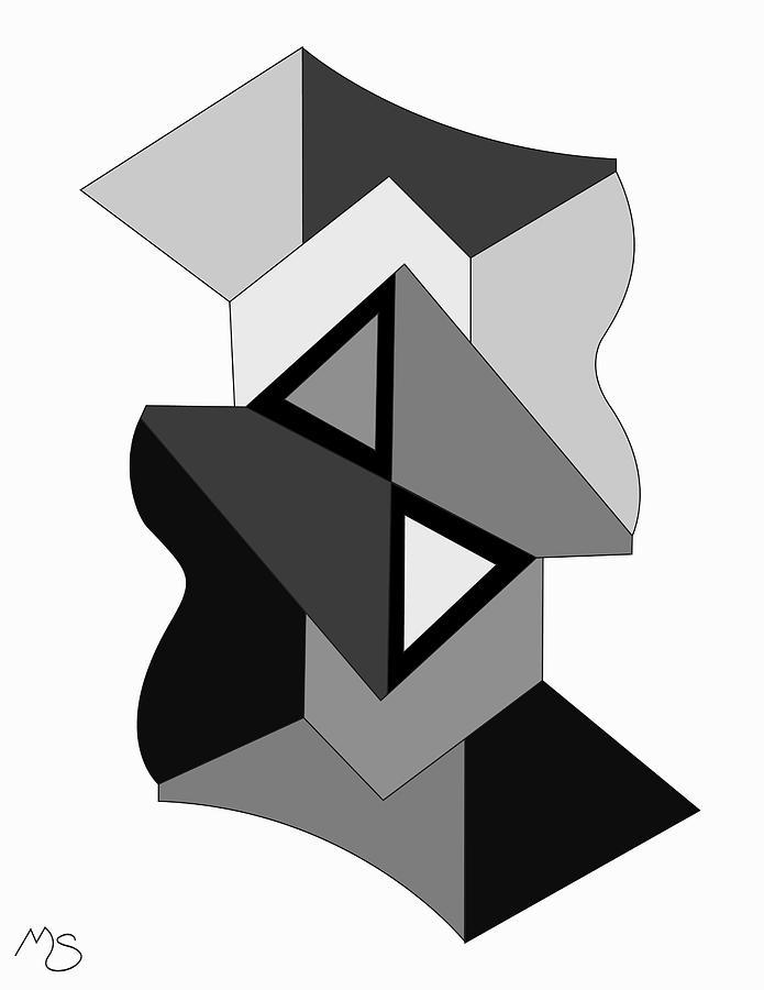 Drawn2ab316bnw Digital Art