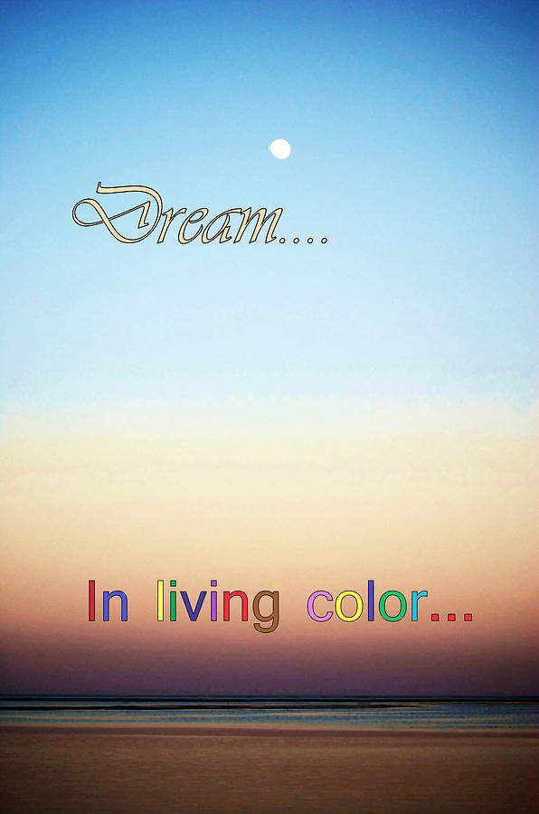 Dream In Living Color Photograph