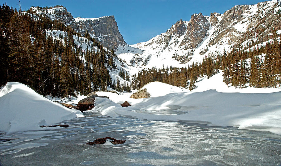 Dream Lake Rocky Mountain Park Colorado Photograph  - Dream Lake Rocky Mountain Park Colorado Fine Art Print