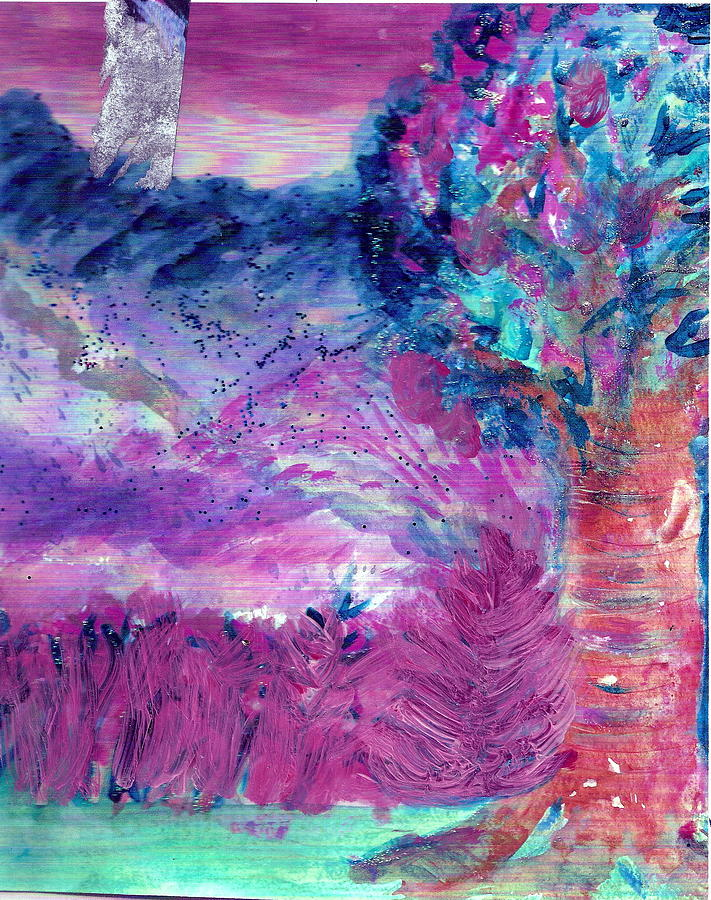 Dream Tree In Sugarland Painting