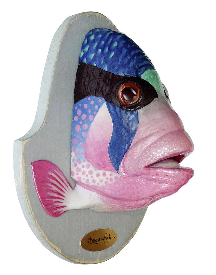 Dreamfish Trophy Sculpture  - Dreamfish Trophy Fine Art Print