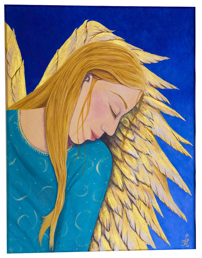 Dreaming Angel Painting